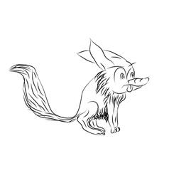 Toon fox vector
