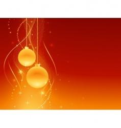 Red golden festive christmas background vector