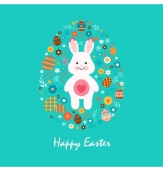 Happy easter 13 vector image