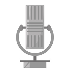 vintage microphone instrument communication vector image