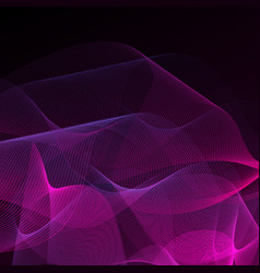 Abstract background purple on black vector