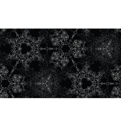 Abstract lacy seamless background vector image