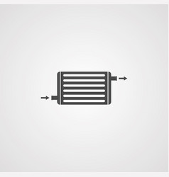intercooler icon sign symbol vector image