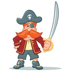 Pirate cartoon vector