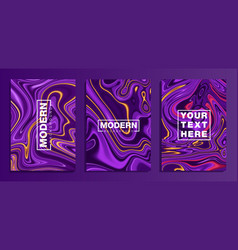 Set coloured modern backgroundstexture with vector