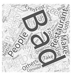 Social Bad Habits Word Cloud Concept vector