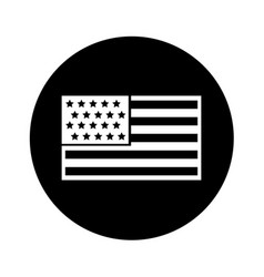 united states of america flag vector image