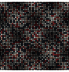 Halftone Dots Vintage Colors Style Seamless vector image vector image