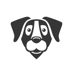 Labrador Retriever Dog Head Icon Logo vector image