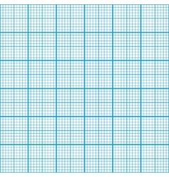 Graph paper cyan color seamless pattern vector image