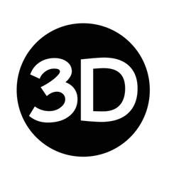 3d icon vector image