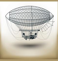air ballon vector image