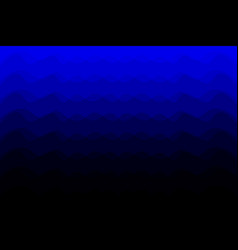 Blue abstract background - waves vector