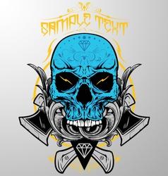 Decorative Skull vector