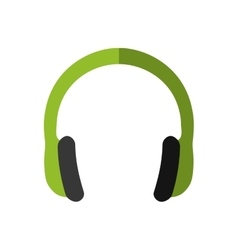 Headphone icon Music design graphic vector image
