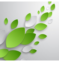 Paper leaves vector