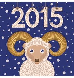 Ram 2015 vector image