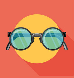 sunglasses icon flat vector image
