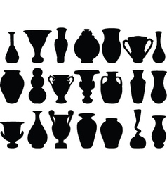 vase 2 vector image