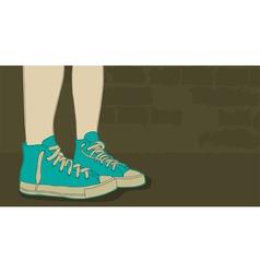 Sneakers vector image vector image