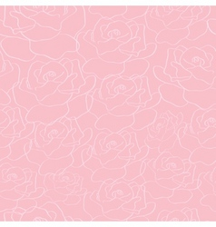 roses background vector image vector image