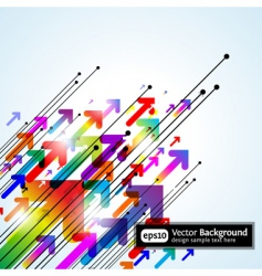 abstract colored gradient vector image