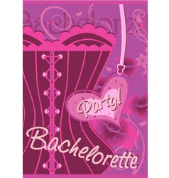 Wrapping gifts bachelorette party vector image