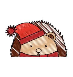 Animal corpspin cartoon vector