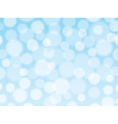 Blue background with bokeh lights vector