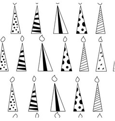 candle-pattern vector image