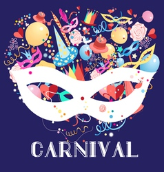 Carnival background vector
