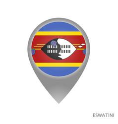 eswatini point vector image