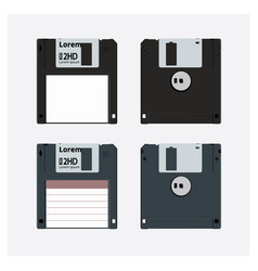 floppy disk realistic vector image