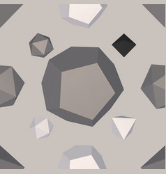 geometrical generated wallpaper vector image