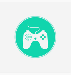 joystick icon sign symbol vector image