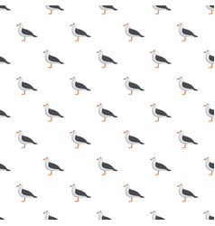 Seagull pattern seamless vector