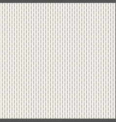 seamless dotted lines pattern vector image