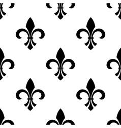 Seamless fleur-de-lys wallpaper vector