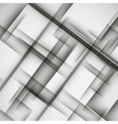 Simple light background of an abstract gray lines vector