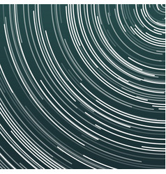 Star trails effect vector