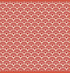 Traditional oriental ornamental pattern vector