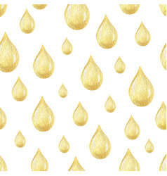 watercolor seamless pattern with oil drops vector image