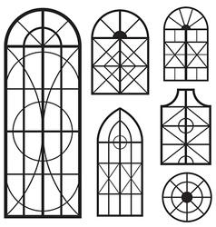 window set vector image