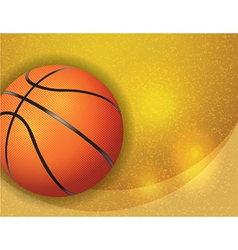 Basketball Highlights Texture vector image vector image