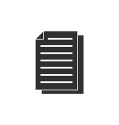copy file icon vector image