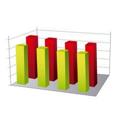 Data statistic graphics concepto vector