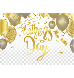 fathers day card or background vector image