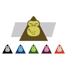 Gorilla Faces vector
