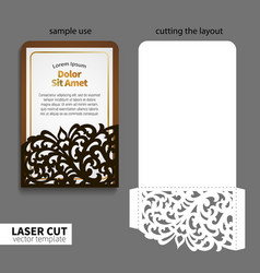 laser cutting vector image