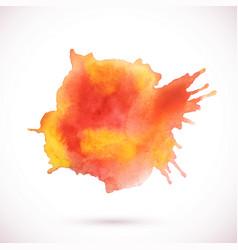 watercolor texture blot vector image